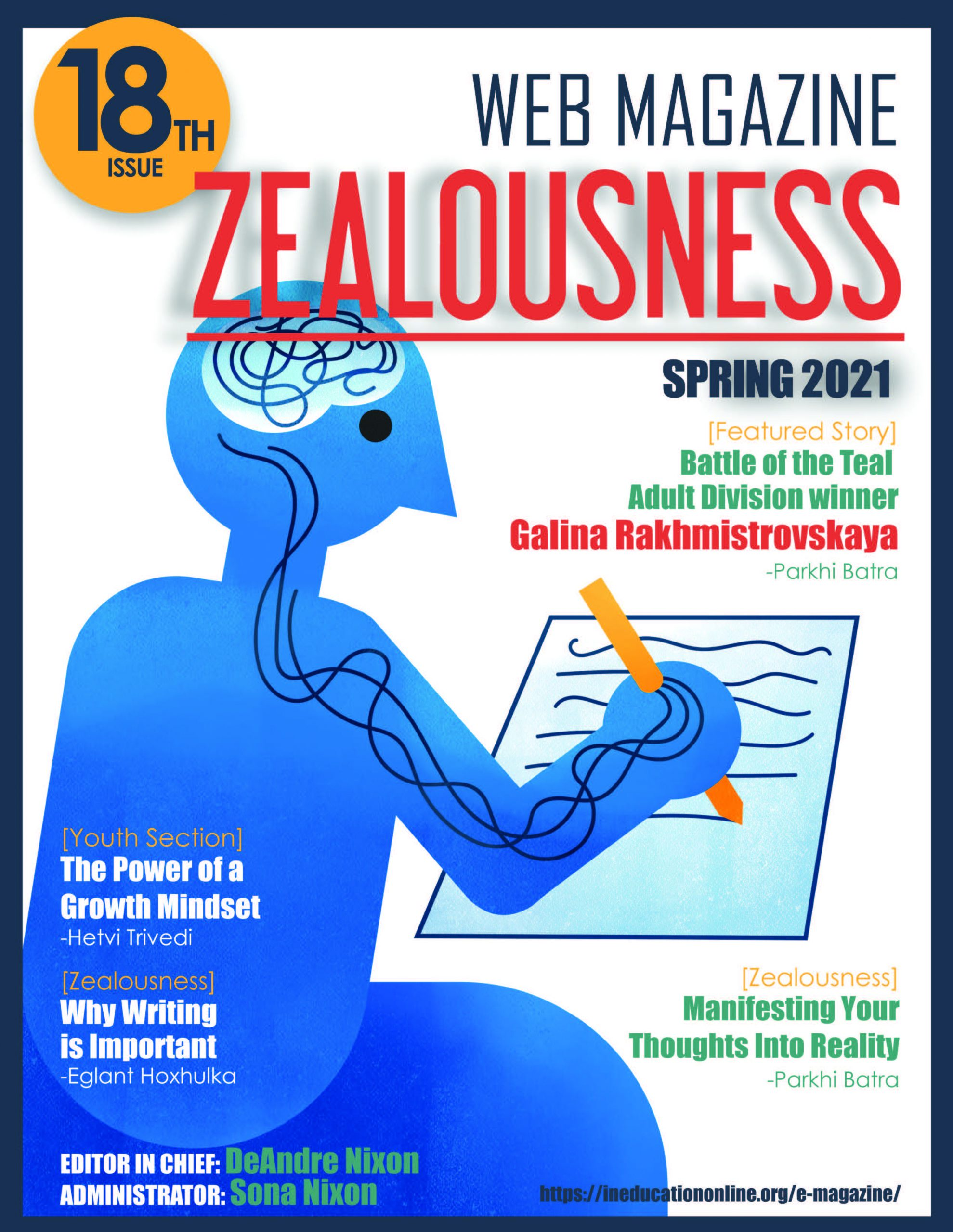 Zealousness Issue 18 Spring 2021_cover