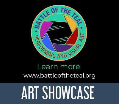 Battle of the Teal showcase ad