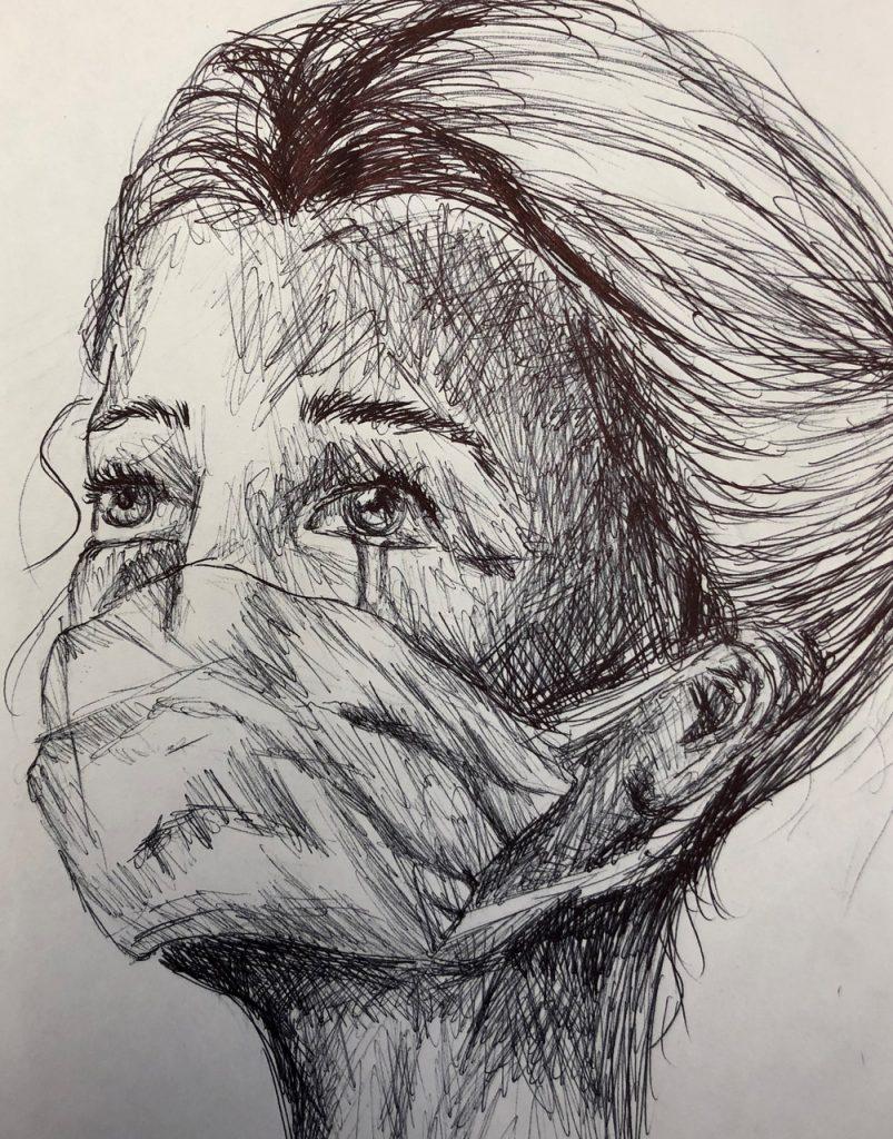 """Artwork titled """"Hero"""" by Zoe Steifel."""