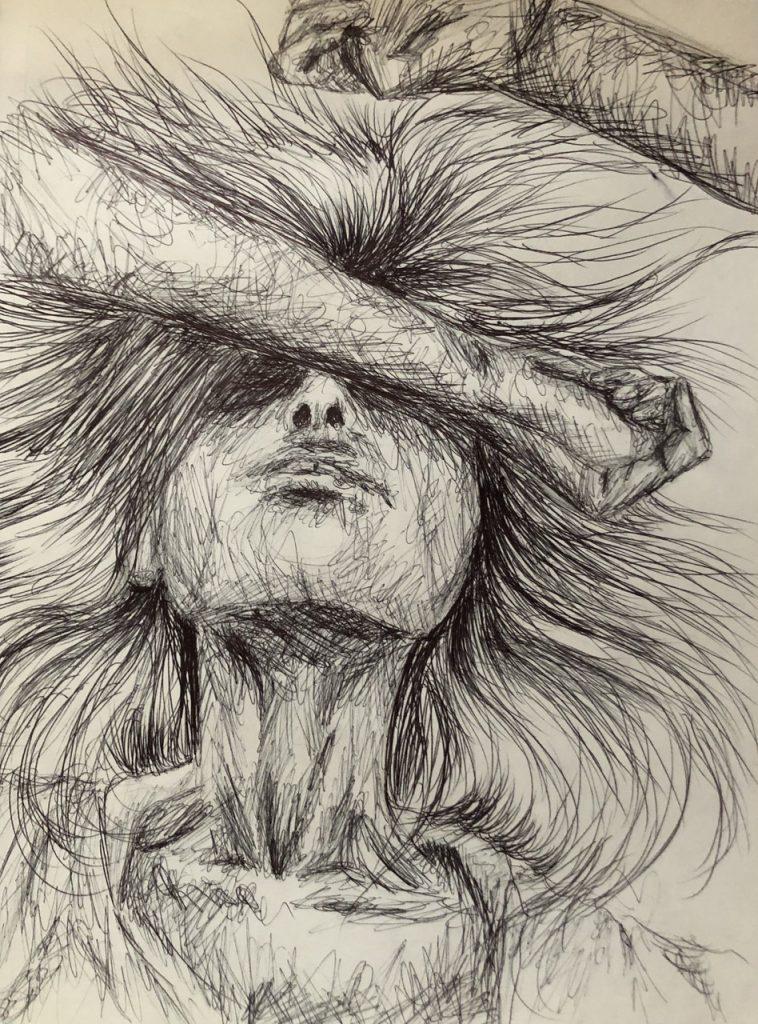 """Artwork titled """"Overload"""" by Zoe Steifel."""
