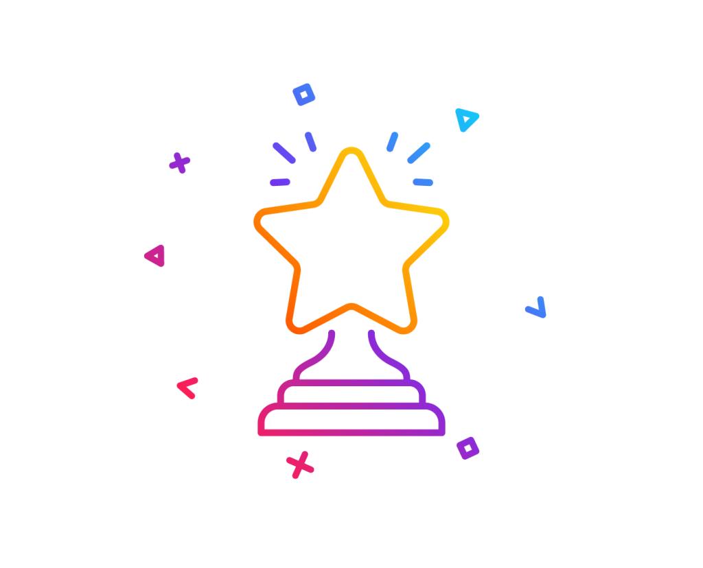 Overcoming procrastination_reward yourself; image of an award – Adobe Stock